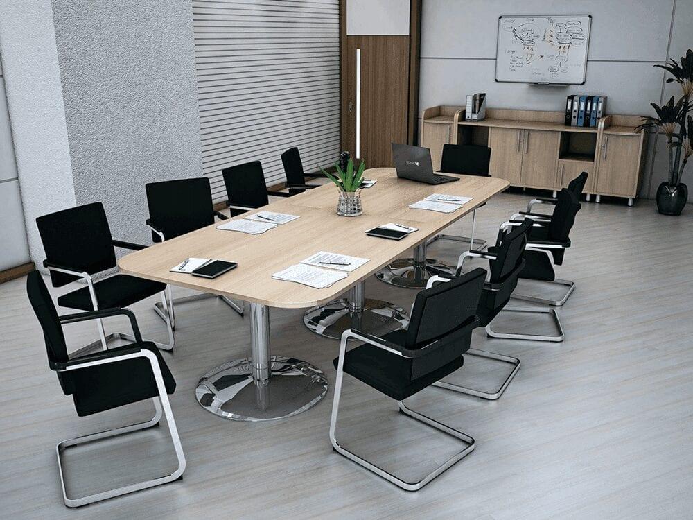 Fiore – Radius Corner Meeting Table