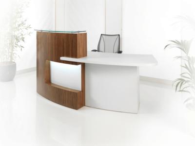 Reception Desk In Brown Orleans Oak–alec 2 9