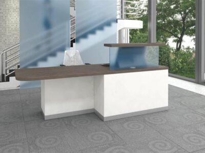 Aida 1 – Straight Reception Desk with DDA Access