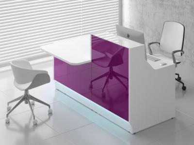 Reception Desk With Dda Counter–adonis Ad 33 34 Lin 331l Fuchsai