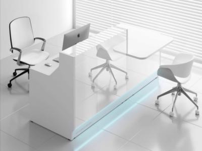 Reception Desk With Dda Counter–adonis Ad 33 34 Lin 34l White