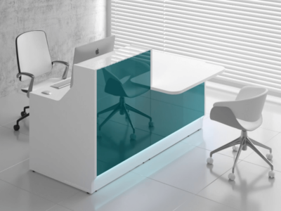 Finley 1 – Reception Desk with DDA Approved Wheelchair Access Counter