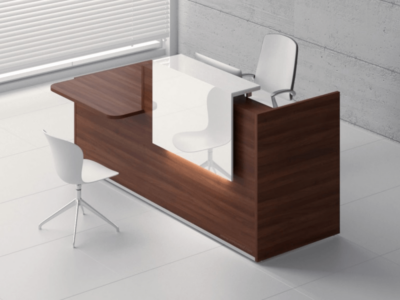 Andreas 4 – Reception Desk with DDA approved Wheelchair Access