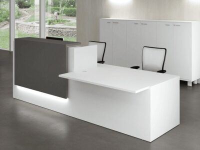 Nero 1 – Reception Desk with Left-Hand DDA Approved Wheelchair Access