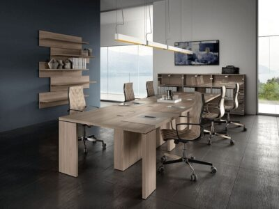 Bernard – Rectangular Boardroom Table