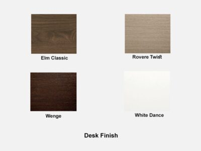 Rectangular Boardroom Table With Top In Walnut Desk Finish
