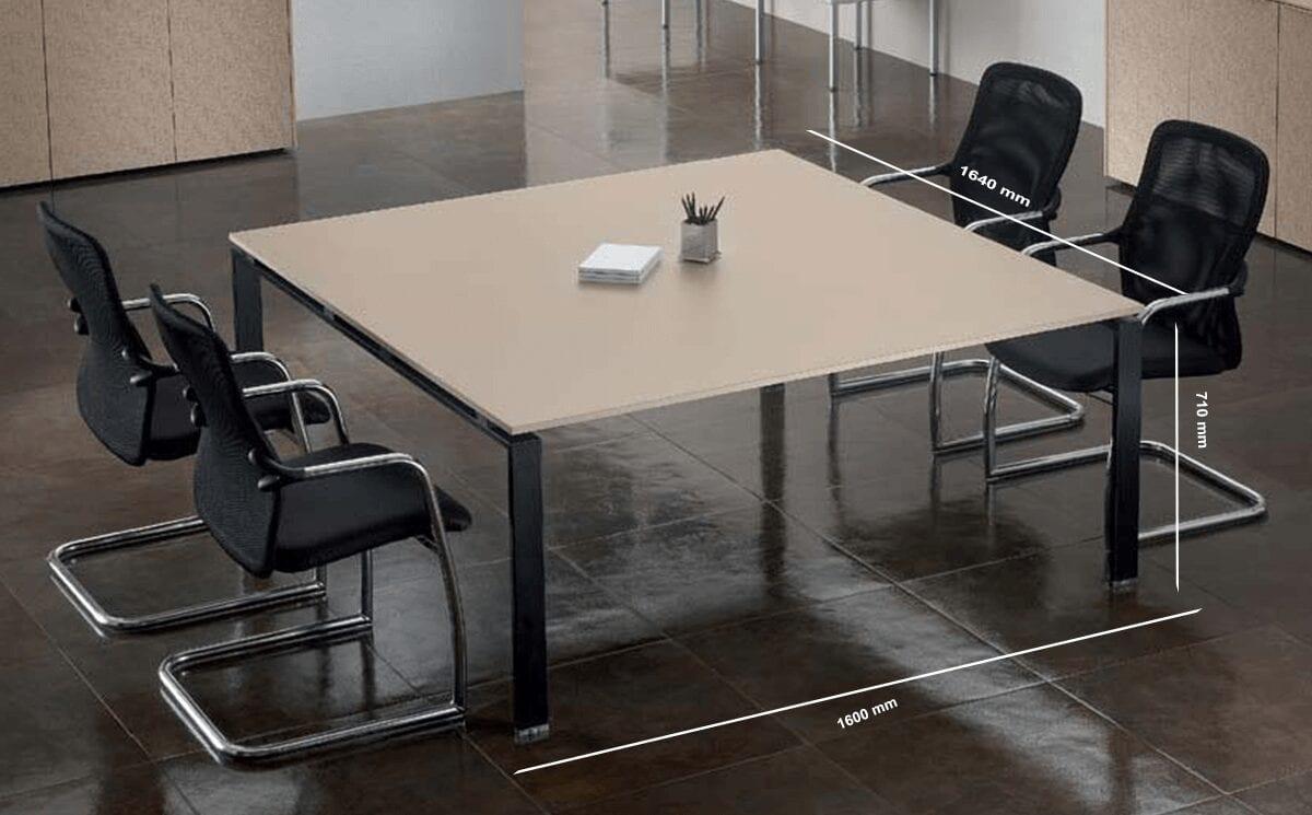 Luke – Meeting Table in Cappuccino