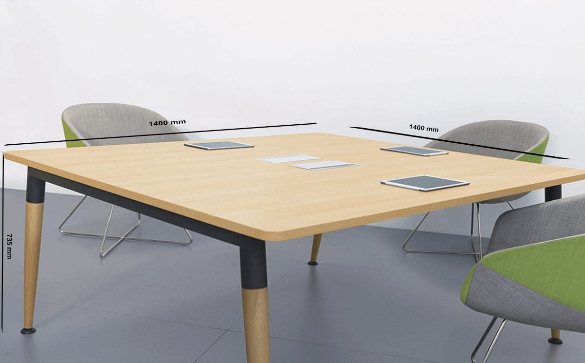 Cora – Wood Square Operational Office Desk Range