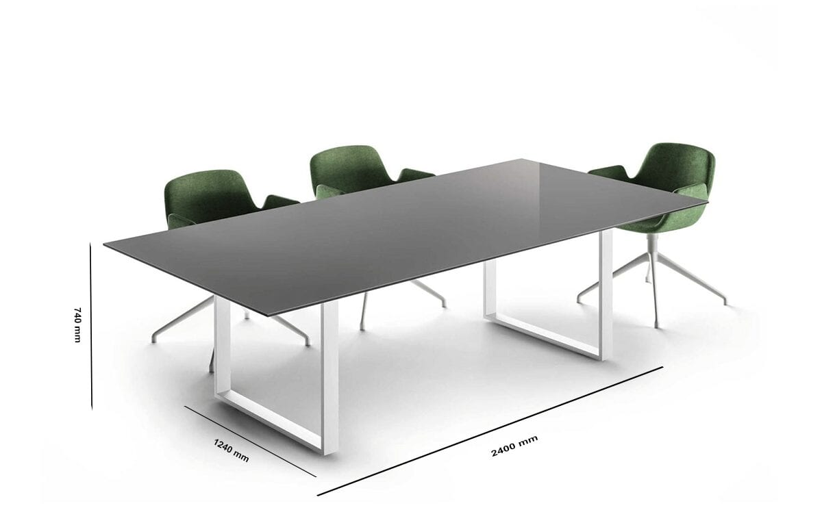 Ash – Ring Leg Meeting Table