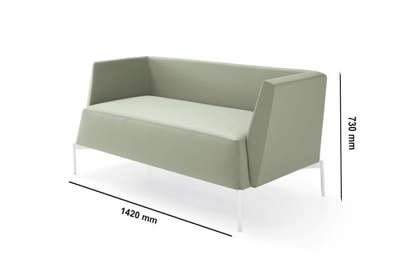 Ashley – Two-Seater Sofa in Multicolour