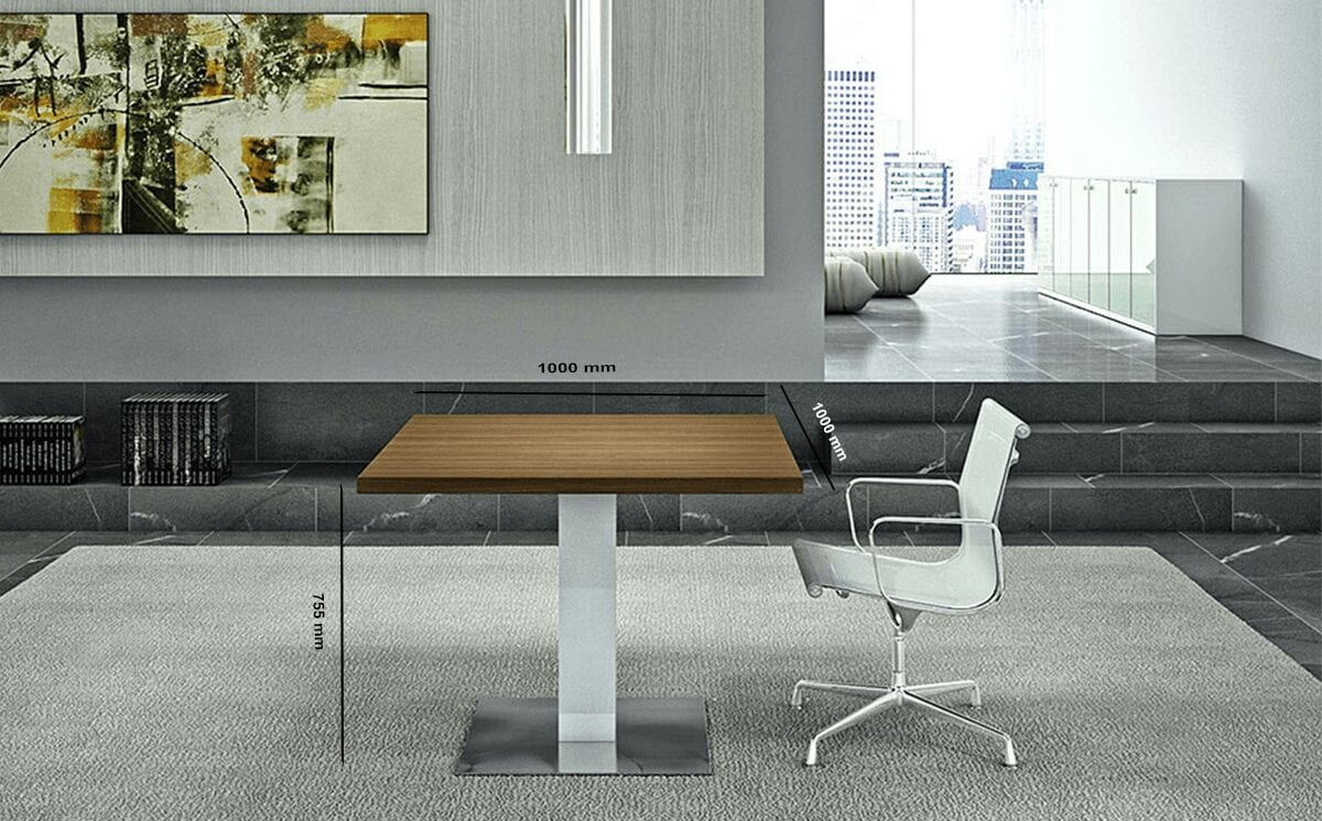 Hugo - Square Top Meeting Table