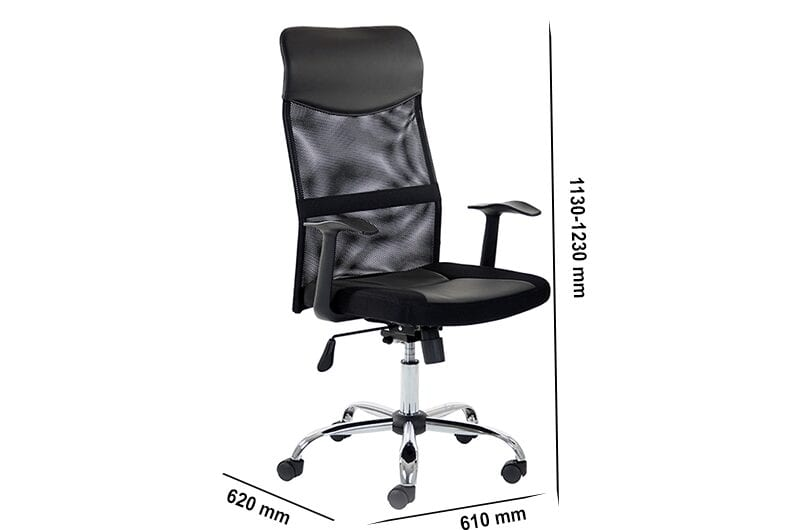 Auberry – Executive Mesh Chair with Arms