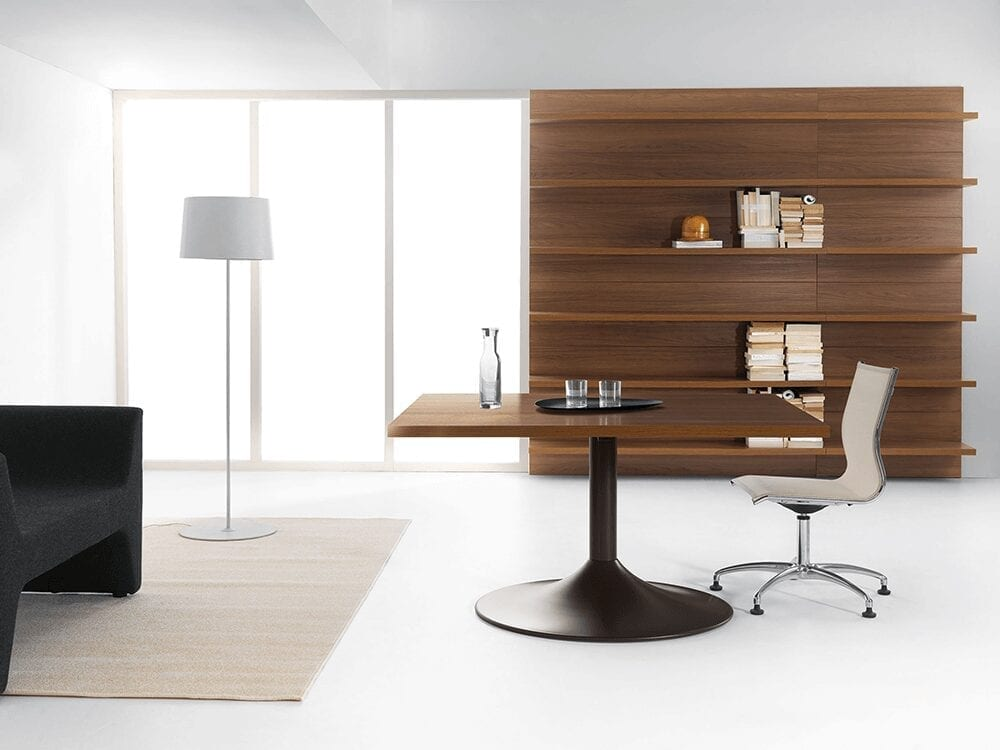 Rose – Square Wooden Meeting Table
