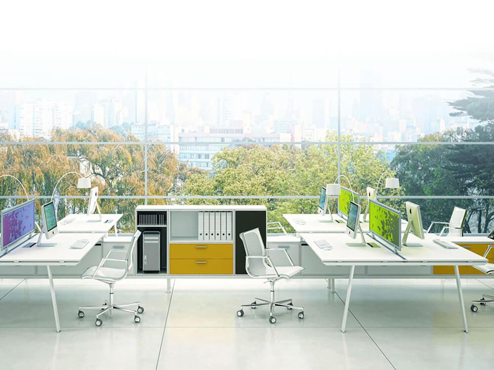 Workstation Desk Yan M 12