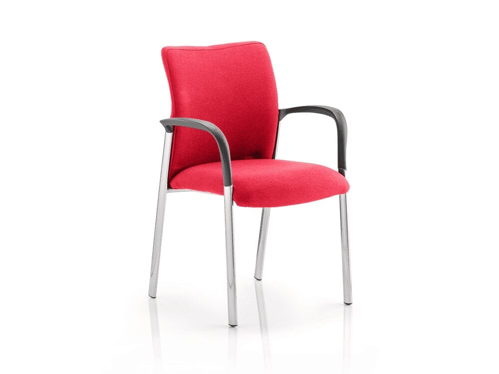 Elio – Multicolour Visitor Chair with Arms