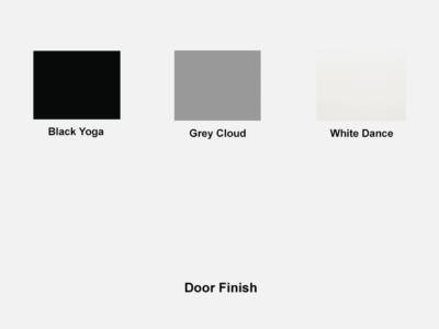 Alton – Small Woodside Sideboard With Slim Open Shelves Door Finish