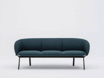 Apollo – Multicolour Three-Seater Sofa with Metal Frame