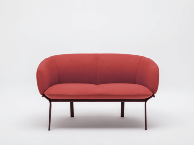 Apollo – Metal Frame Two Seater Armchair In Multicolour