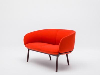 Apollo – Metal Frame Two Seater Armchair In Multicolour1