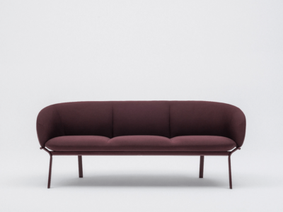 Apollo – Multicolour Three Seater Sofa With Metal Frame
