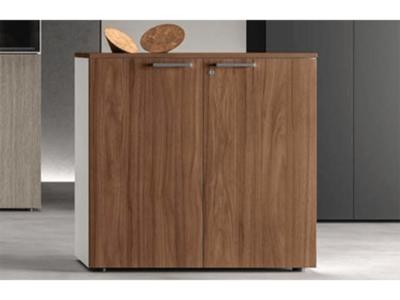 Benoit Woodside Storage Unit With Door Main Image
