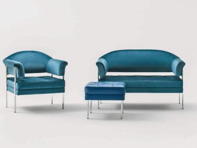 Tara – Leather Single Seater Bench Stool