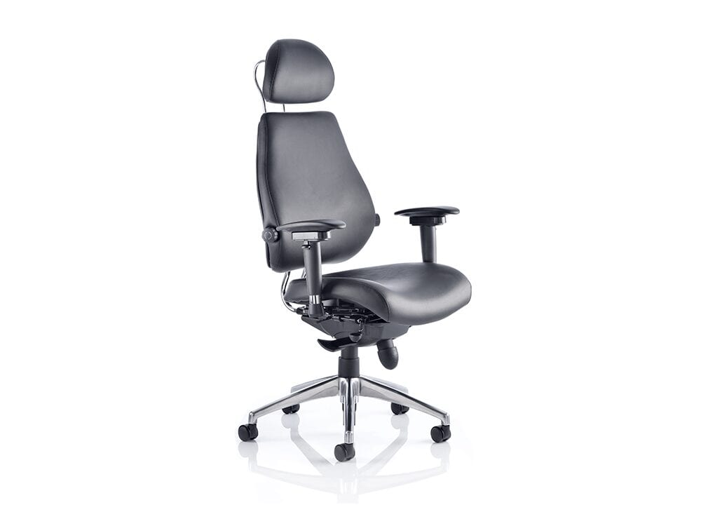 Selena – High Back Leather Executive Chair with Headrest
