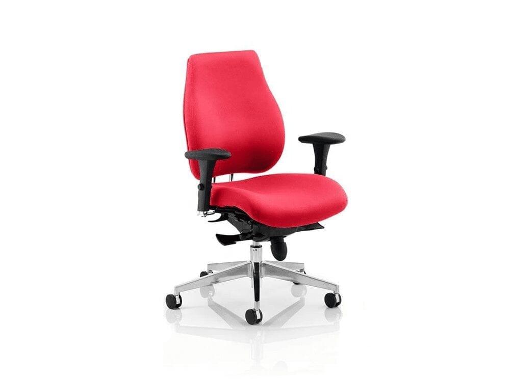 Selena – Executive Task Chair in Multicolour Fabric