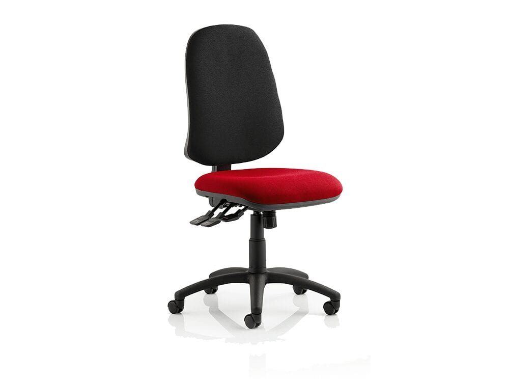 Esme XL – Multicolour Seat Operator Office Chair without Arms
