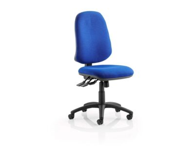 Esme XL 3 – Fabric High Back Operator Office Chair without Arms