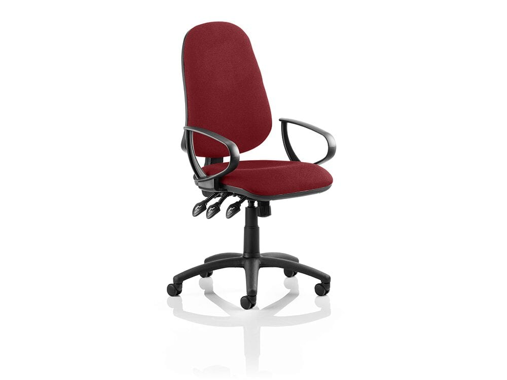 Esme XL 2 – Multicolour Task Operator Office Chair with Arms
