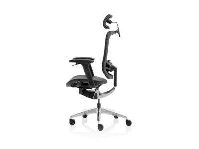 Ergo Click Black Mesh Seat Black Mesh Back With Headrest 1