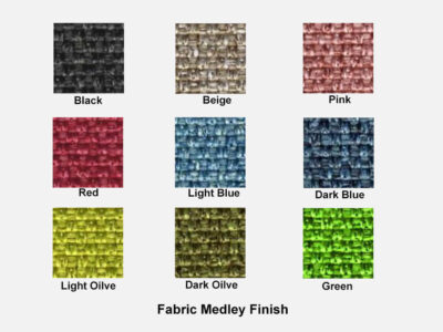Fabric Medley Finish