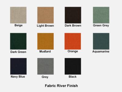 Fabric River Finish