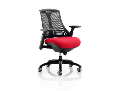 Echo – Flexible Back Operator Office Chair in Multicolour