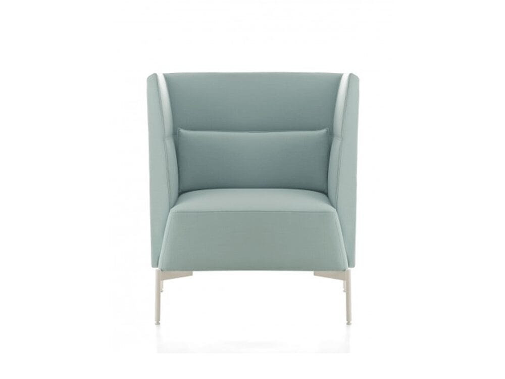 Ashley – High or Low Back Armchair in Multicolour