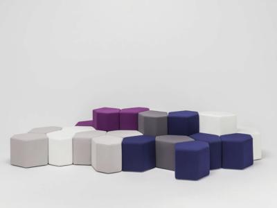 Kobe – Hexagonal Stools In Multicolour6