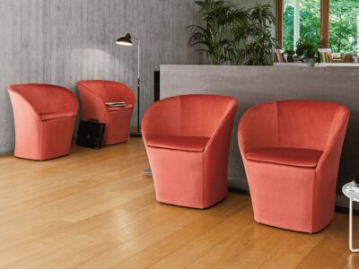 Ceto – Faux Leather Tub Chair