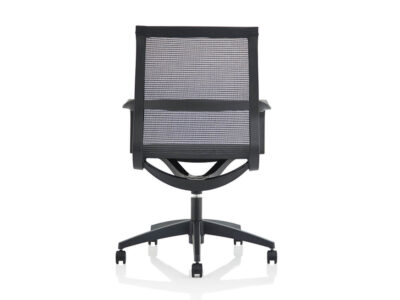 Lula Black Mesh Executive Chair With Fixed Arms 1