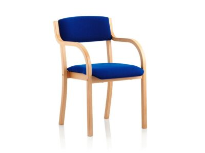 Viola  – Wooden Visitor Chair in Multicolour