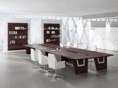 Gene – Straight Top Boardroom Table