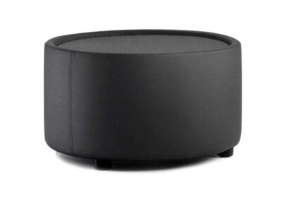 Atlas – Round Leather Breakout Stool and Table