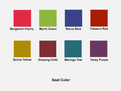 Nrya – Curved Executive Chair In Multicolour Fabric Seat Color