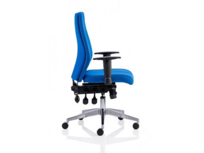 Nyra – Fabric Black Blue Executive Task Chair