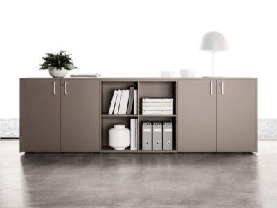 Vida – Wooden Sideboard with Lockable Doors