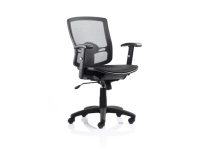 Cole – Mesh Task Operator Office Chair with Adjustable Arms