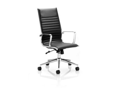 Charme – Bonded Leather Executive Chair with Arms