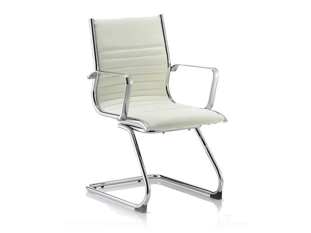 Ritz Visitor Cantilever Chair Ivoy