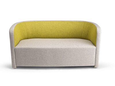 Sydney – Fabric Medium Back Two-Seater Sofa in Multicolour