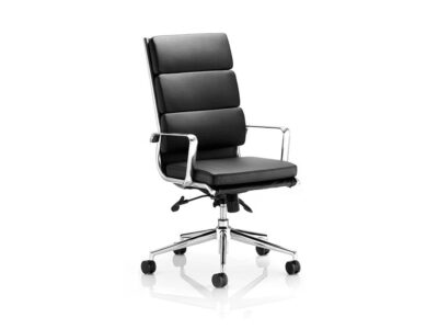 Ivy – High Back Leather Executive Chair with Arms